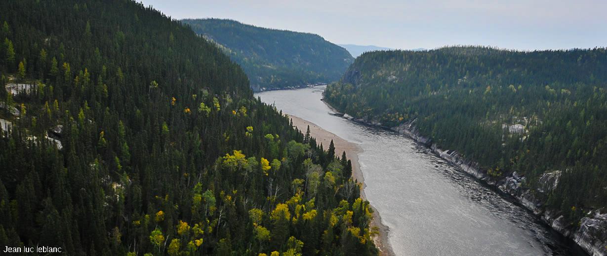 La majestueuse rivière Moisie